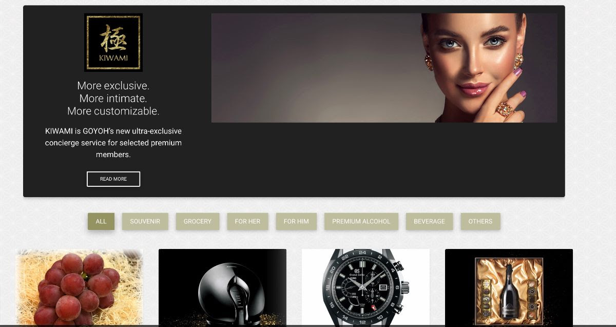 GOYOH Service Introduction: Personal Shopping